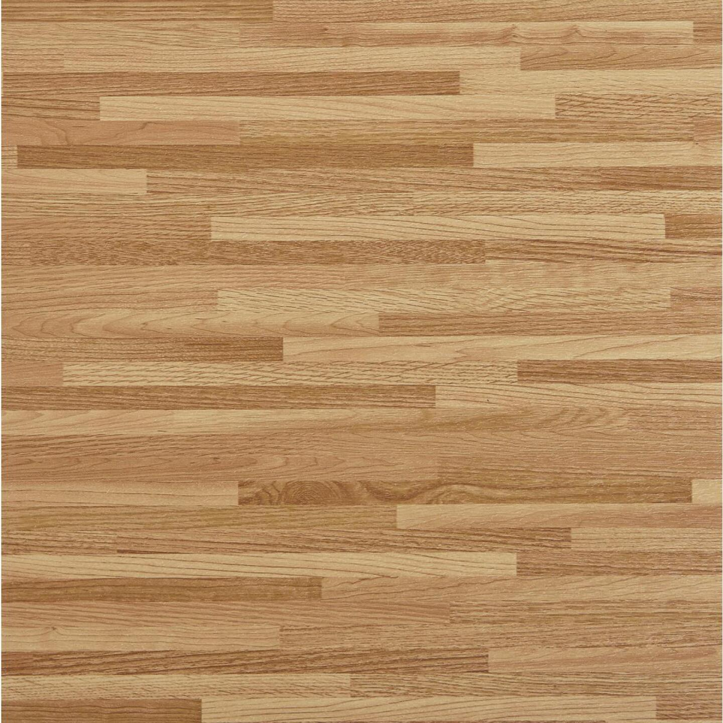 Home Impressions Maple Strip 12 In. x 12 In. Vinyl Floor Tile (45 Sq. Ft./Box) Image 1