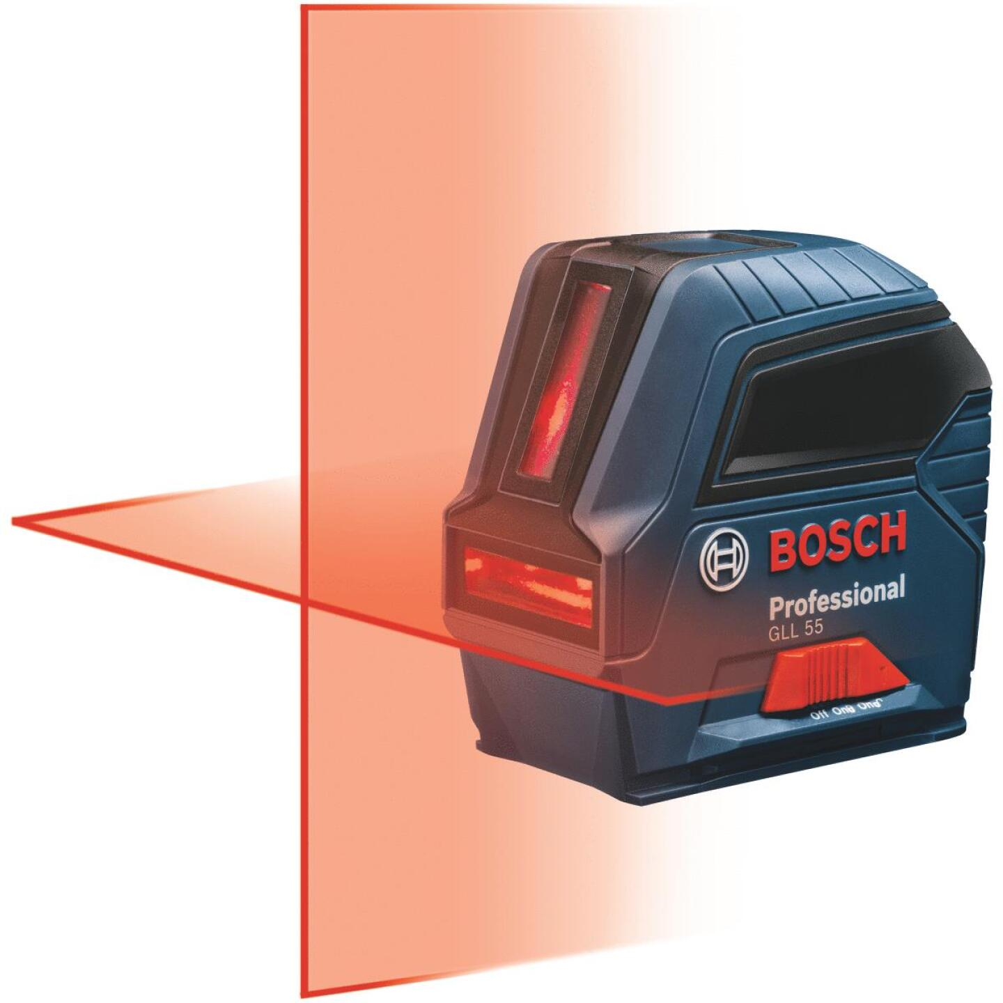 Bosch 50 Ft. Self-Leveling Professional Cross-Line Laser Level Image 1