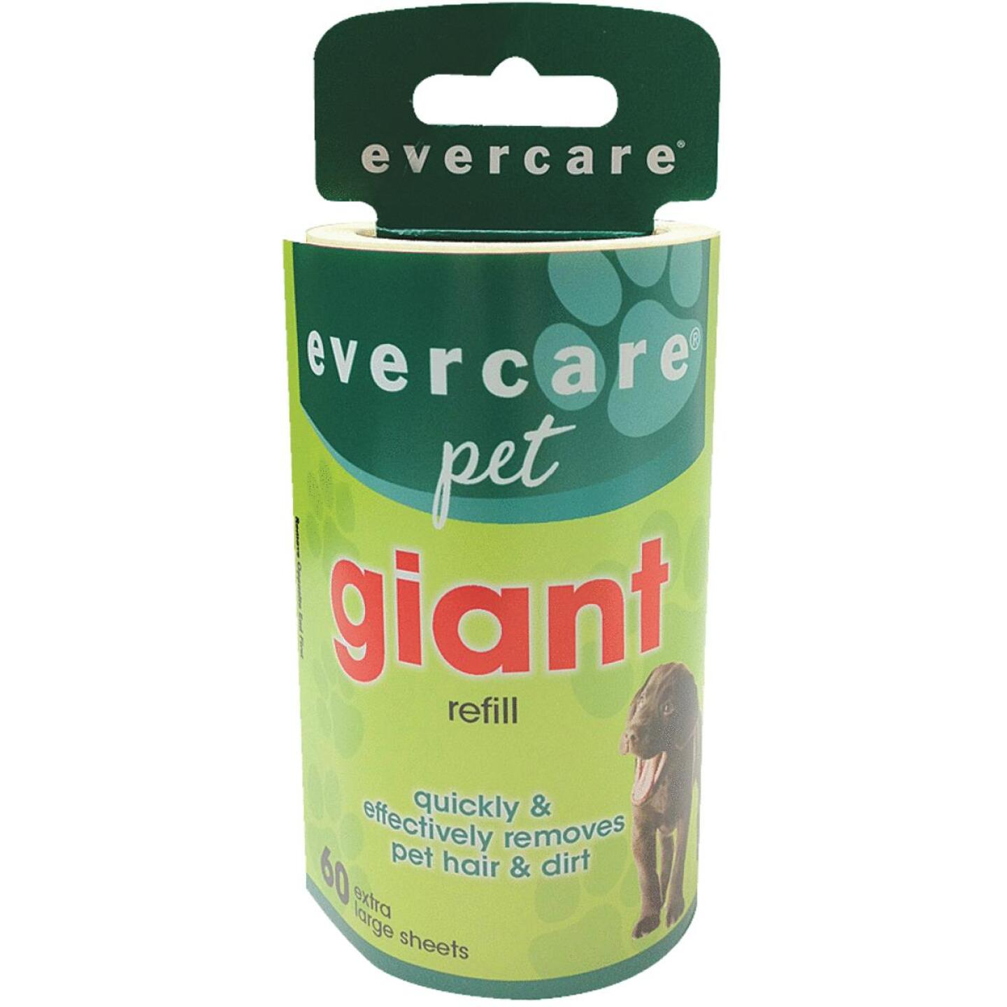 Evercare Pet 36.4 Ft. x 4.6 In. Giant Refill Roll Pet Hair Remover Image 1