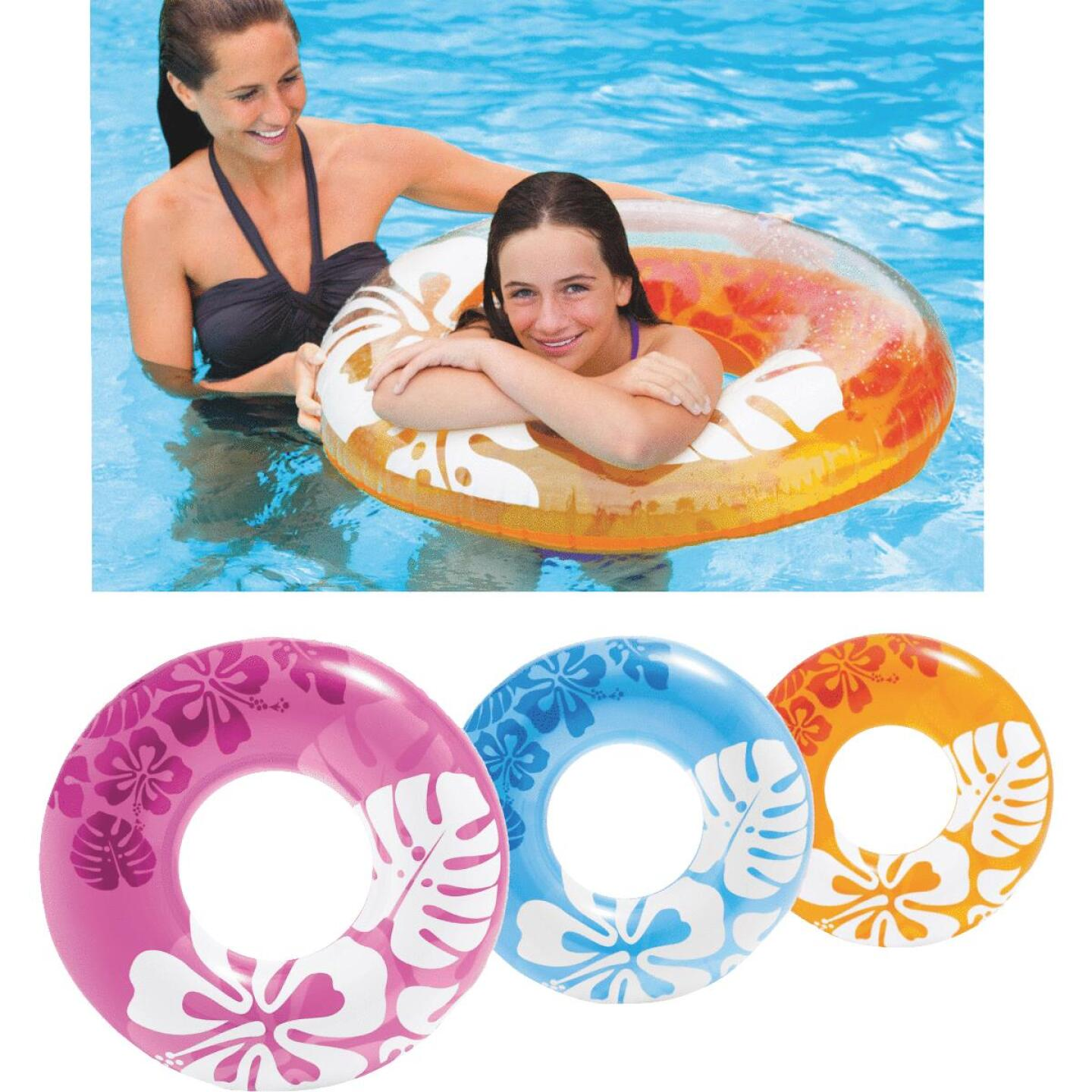 Intex 36 In. Pool Tube Float Image 1